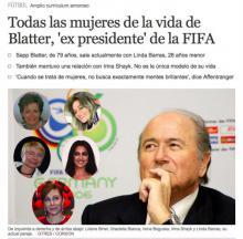 სკანდალური ირინა შეიკის გარშემო-El Mundo-მ ფიფას ექს-პრეზიდენტის საყვარლების სია გამოაქვეყნა