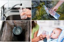 რომელი წყალი უნდა დავლიოთ: ონკანის, ბოთლის, წყაროს, ჭის თუ გაფილტრული?
