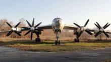 """რუსეთში ამურის ოლქში დაიწვა რუსული სტრატეგიული ბომბდამშენ–რაკეტმზიდი """"Ту-95""""."""