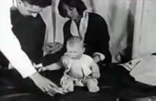 არაეთიკური ექსპერიმენტი 9 თვის ბავშვზე