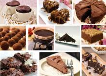 შოკოლადის  დესერტები, რომლებიც 10 წუთში მზადდება