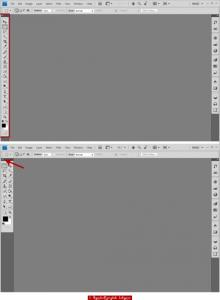 პროგრამის ინტერფეისი (Photoshop CS 4 & 5)