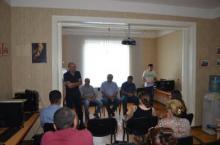 """ფრაქცია """"ქართული ოცნების"""" წევრების, შეხვედრა NIMD-ის დემოკრატიის სკოლის მსმენელებთან"""