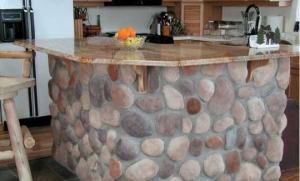 35 საოცარი იდეა – როგორ გამოვიყენოთ რიყის ქვა თქვენი სახლის დიზაინისთვის