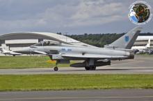 """ევროპაში მეხუთე თაობის ამერიკული ავიაგამანადგურებლები – """"F-22 Raptors"""" -ები ჩაფრინდნენ"""