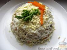 ქათმის ღვიძლით მომზადებული უმარტივესი რუსული სალათა