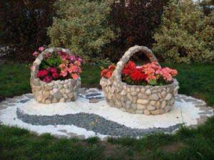 ბაღების და ეზოების ზღაპრული დიზაინი ქვის გამოყენებით – 50 კრეატიული იდეა