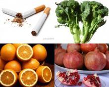 9 პროდუქტი, რომელიც ორგანიზმიდან ნიკოტინის გამოდევნას უწყობს ხელს