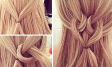 თმის ვარცხნილობები, რომლებიც შეიძლება სახლის პირობებში 3 წუთში გაიკეთოთ