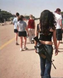"""ქალები, რომლებიც მამაკაცებთან ერთად იბრძვიან -ისრაელის """"ქალი სამხედროები!"""""""