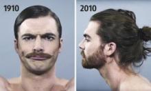 """როგორ შეიცვალა """"კაცური მოდა"""" უკანასკნელი 100 წლის განმავლობაში"""