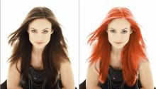თმის და თვალის ფერის შეცვლა ფოტოშოპში. პრაქტიკუმი (Photoshop CS 4 & 5)