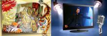 სურათების ჩასმა 2 და 3 განზომილებიან ჩარჩოებში. პრაქტიკუმი (Photoshop CS 4 & 5)