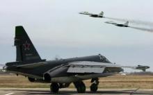რუსეთის სამხედრო თვითმფრინავებმა სირიის ჩრდილოეთით, პროვინციები დაბომბეს