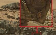 მარსზე აღმოჩენილი უცნაური ობიექტები