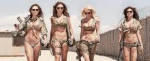მსოფლიოს ულამაზესი ჯარის ქალები