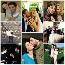 2015 წლის სკანდალური წყვილები, ქორწინებები და განქორწინებები