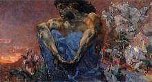 დემონების ტყვეობაში: ნახატები, რომლებიც მხატვარმა ჭკუიდან შეშლის დროს დახატა