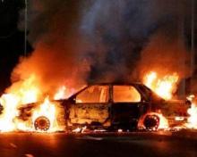 საფრანგეთში ახალი წლის ღამეს 804 ავტომობილს ცეცხლი წაუკიდეს