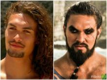 მსახიობი მამაკაცები, რომლებიც როლის დროს უფრო კარგად გამოიყურებიან, ვიდრე ცხოვრებაში
