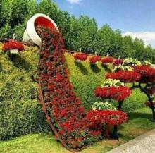 ყვავილების დარგვის 35 კრეატიული იდეა. აქციეთ თქვენი ბაღი ზღაპრულ ადგილად!