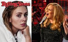 ადელი პოპულარობის, ოჯახის და გარეგნობის შესახებ.  ჟურნალი Rolling Stone