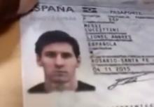 პოლიციელი მესის პასპორტის გამოქვეყნებისთვის დააკავეს