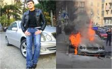 რატი დურგლიშვილმა ცეცხლმოკიდებული მანქანიდან გადმოსვლა მოასწრო. მომღერალი სოციალურ ქსელზე მიმართვას ავრცელებს.