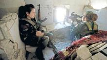 """""""დღეში 3-4 კაცს კლავენ"""" - სირიის ქალი სამხედროები!"""