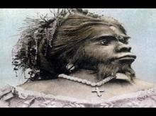 აფხაზეთში ნაპოვნი თოვლის ქალი ზანა