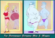 11 იუმორისტული, მაგრამ რეალური განსხვავება ქალსა და მამაკაცს შორის