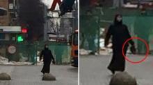 შოკი: მოსკოვში ქალი  ბავშვის მოჭრილი თავით დადიოდა და აფეთქებით იმუქრებოდა (ფოტო-ვიდეო)+16