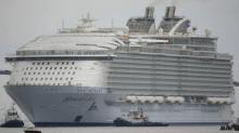 მსოფლიოში ყველაზე დიდი სამგზავრო ლაინერი ზღვაში გავიდა