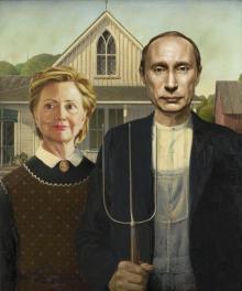 მსოფლიო პოლიტიკის გმირები კლასიკურ ფერწერაში
