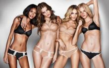 Victoria's Secret - ის ანგელოზები მაკიაჟის გარეშე