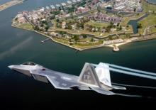 """ავიაგამანადგურებელი F-22 Raptor - """"მტაცებელი ფრინველი"""""""