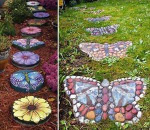 საოცრად ლამაზი ბილიკები ბაღებსა და ეზოებში – 50 კრეატიული იდეა (ნაწილი II)