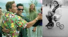 ფოტოები, რომლებზეც ცნობილი ადამიანები ბავშვურ სისულელეებს აკეთებენ