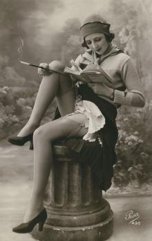 ქალის სილამაზე 100 წლის წინ!