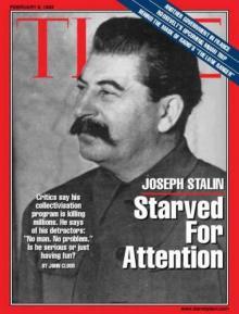 """საბჭოთა ადამიანები  ამერიკული ჟურნალის """"Time"""" -ის გარეკანზე: სტალინიდან გორბაჩოვამდე"""