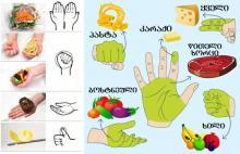 კვების აუცილებელი რაციონი, ჯანმრთელობის შესანარჩუნებლად   –  «ხელის დიეტის» 5 პრინციპი