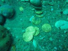 ხმელთაშუა ზღვაში 9 კგ ოქროს საგანძური იპოვეს!