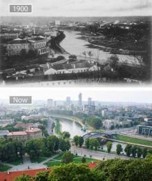 უწინ და ახლა-როგორ იცვლებოდა ქალაქები