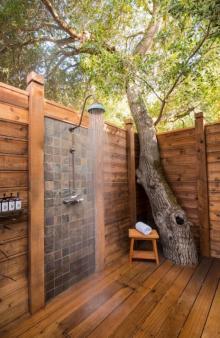 ათი საინტერესო იდეა  საზაფხულო  საშხაპის  მოსაწყობად