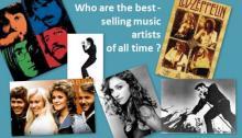ყველა დროის ყველაზე პოპულარული (გაყიდვადი)მუსიკალური შემსრულებლები