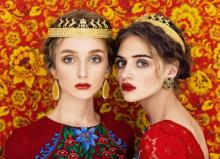 სლავური სილამაზე: გოგონების პორტრეტები რუსი ფოტოგრაფებისგან