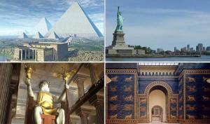 ნაკლებად ცნობილი ფაქტები,  ძველი მსოფლიოს  ცნობილი ძეგლების შესახებ