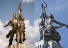 """ვის სახეს """"მალავდა"""" და რატომ უნდოდათ ყველაზე ცნობილი საბჭოთა ქანდაკების დაბლოკვა - უცნობი ისტორია"""