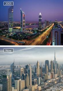 ცნობილი ქალაქების საოცარი სახეცვლილება ათწლეულების შემდეგ (30+ ფოტო)
