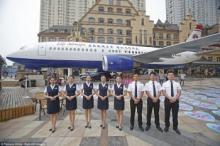 ჩინეთში გაიხსნა რესტორანი თვითმფრინავი